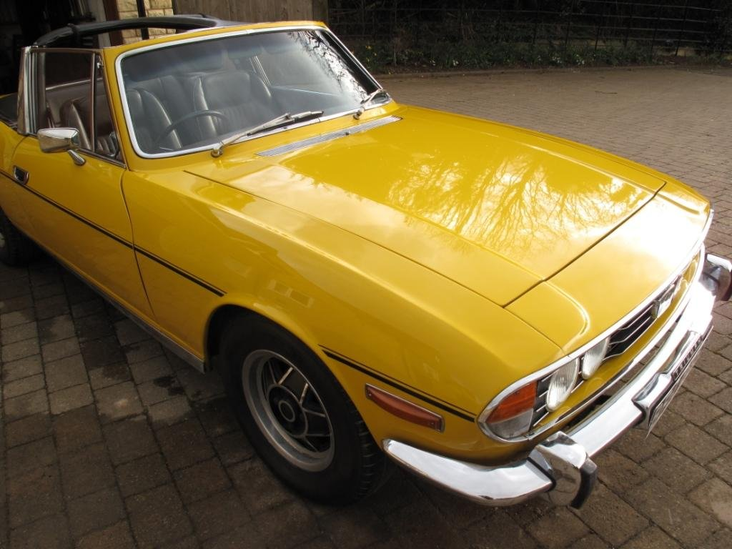 1972 Triumph Stag Manual with o/d SOLD (picture 6 of 6)