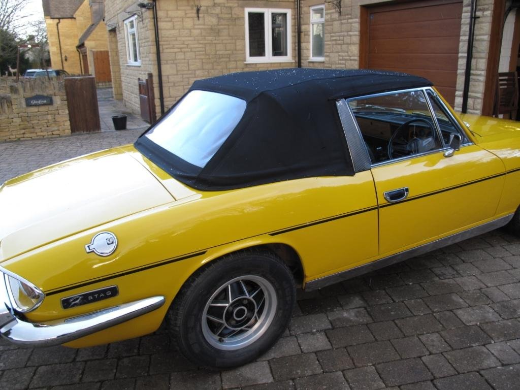 1972 Triumph Stag Manual with o/d SOLD (picture 2 of 6)