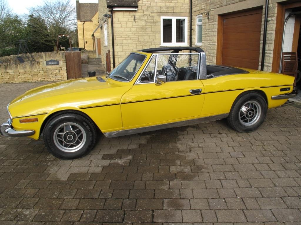 1972 Triumph Stag Manual with o/d SOLD (picture 1 of 6)