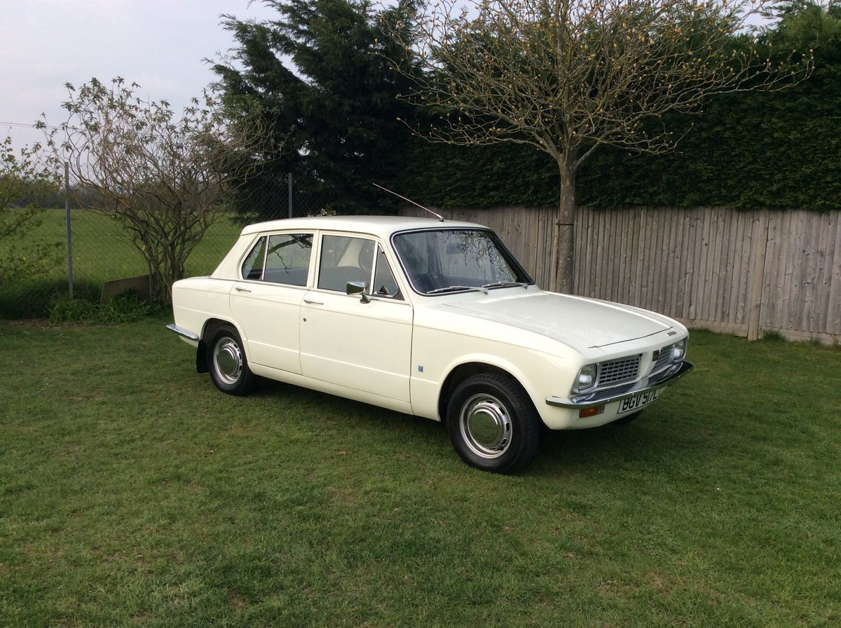Triumph Toledo 1973 MOT and tax exempt SOLD (picture 1 of 6)
