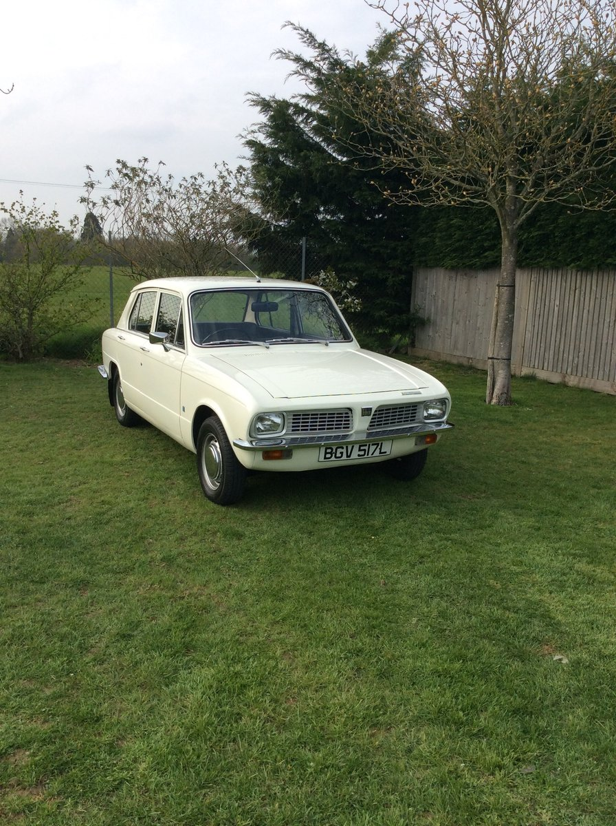 Triumph Toledo 1973 MOT and tax exempt SOLD (picture 2 of 6)
