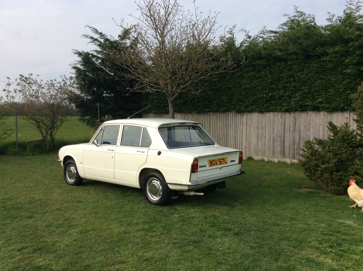 Triumph Toledo 1973 MOT and tax exempt SOLD (picture 3 of 6)