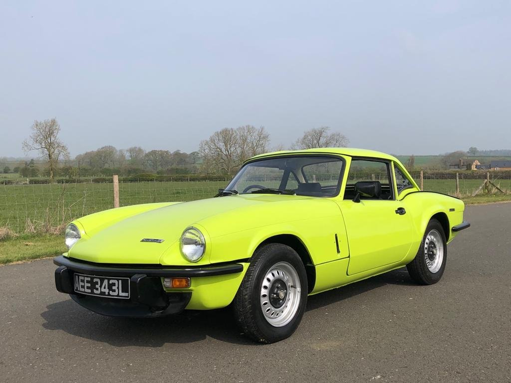 1972 Triumph Spitfire 1300cc MK IV Manual / Overdrive For Sale (picture 1 of 6)