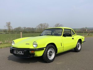 1972 Triumph Spitfire 1300cc MK IV Manual / Overdrive SOLD