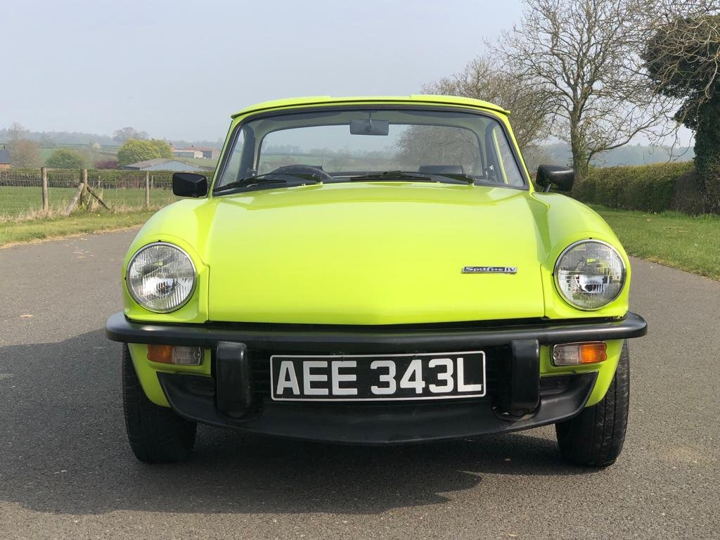 1972 Triumph Spitfire 1300cc MK IV Manual / Overdrive For Sale (picture 2 of 6)