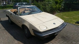 1982 2 x Owner TR7 Convertible, Low mileage. SOLD