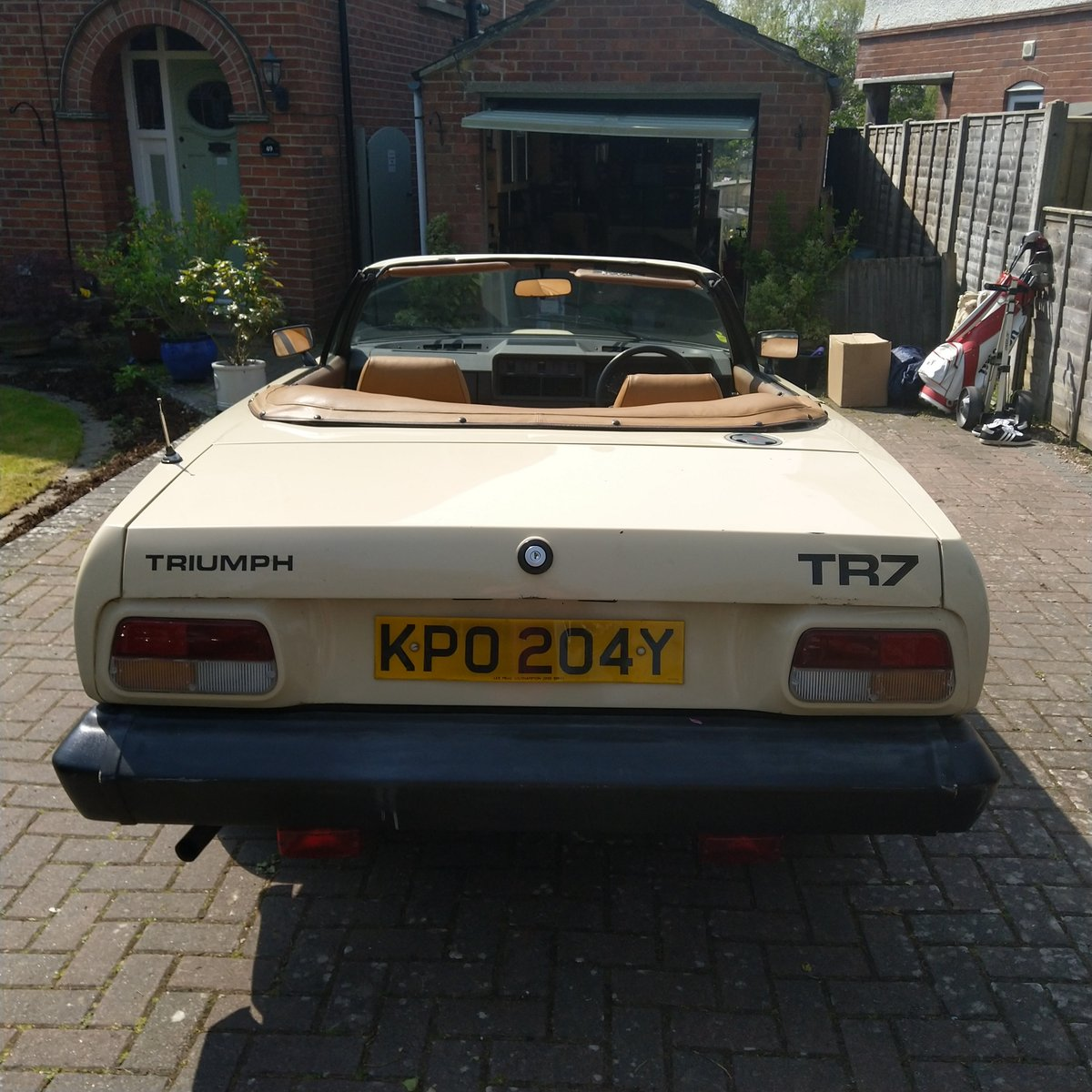 1982 2 x Owner TR7 Convertible, Low mileage. SOLD (picture 6 of 6)