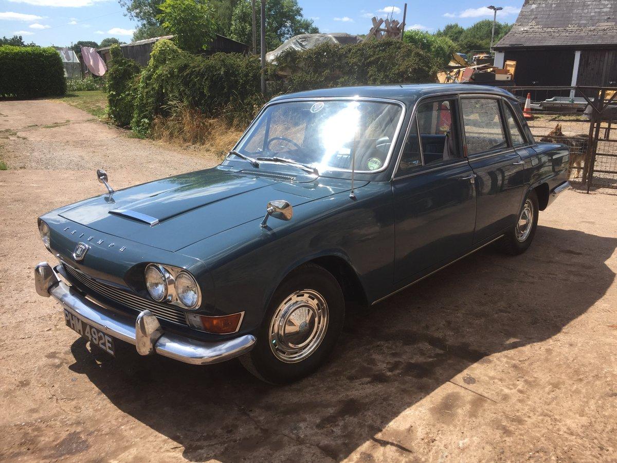 1967 Triumph 2000 auto Mk1 For Sale (picture 2 of 4)