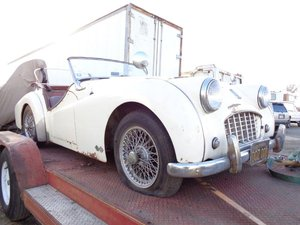1957 Triumph TR3 ex Californian Project for sale For Sale