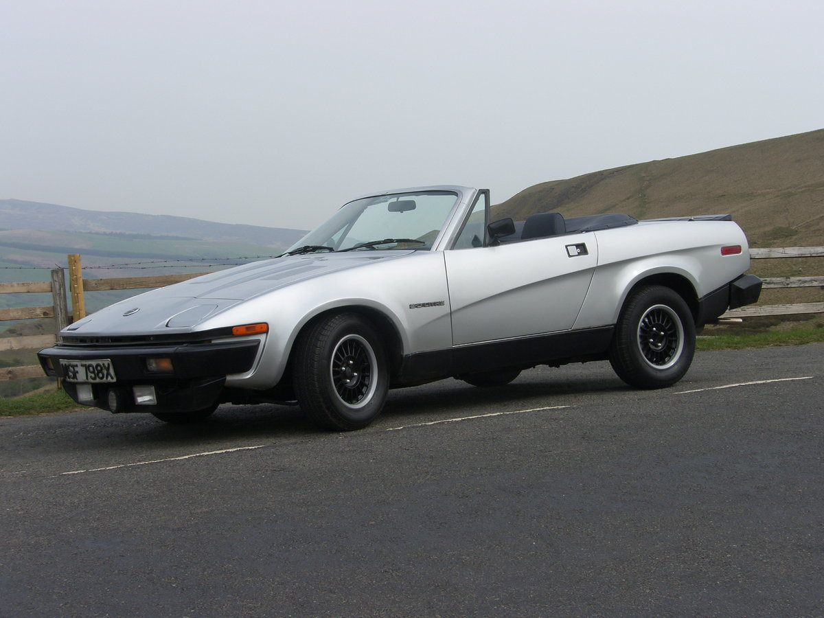 1982 Triumph TR7 convertible For Sale (picture 1 of 6)