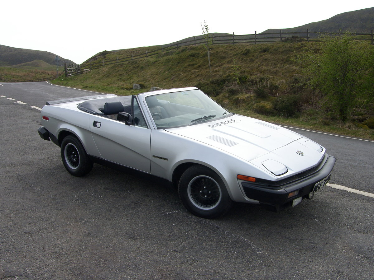 1982 Triumph TR7 convertible For Sale (picture 2 of 6)