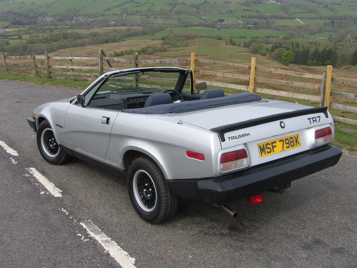 1982 Triumph TR7 convertible For Sale (picture 3 of 6)