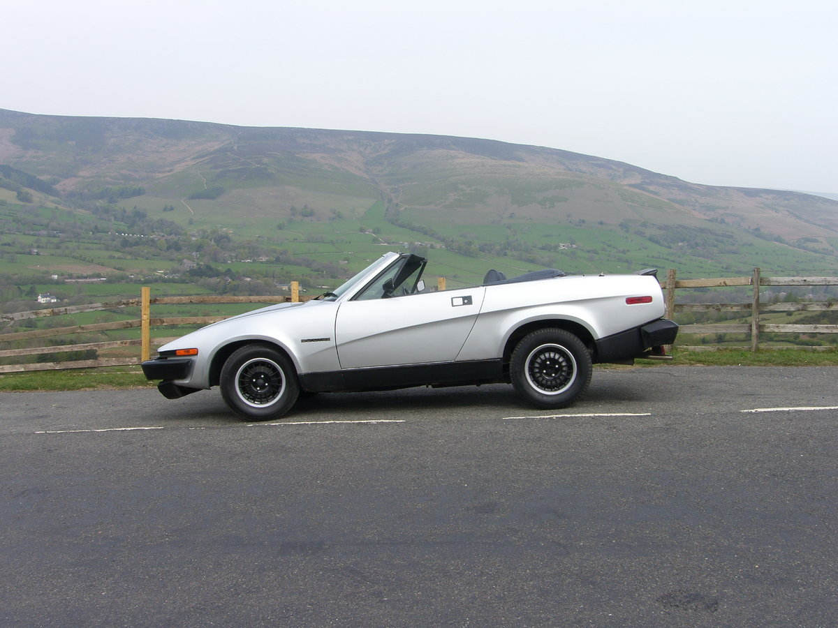 1982 Triumph TR7 convertible For Sale (picture 6 of 6)