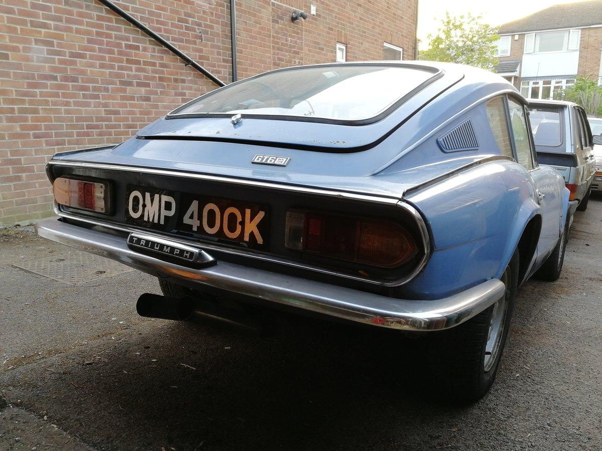 Triumph GT6 1972 For Sale (picture 2 of 6)