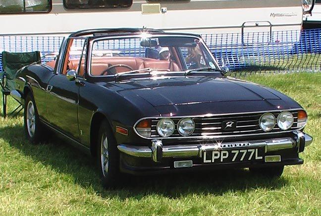 1972 Mk1/2 Triumph stag SOLD (picture 1 of 6)