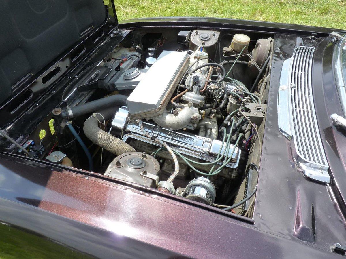 1972 Mk1/2 Triumph stag SOLD (picture 3 of 6)