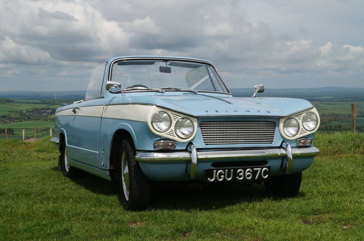 1965 Low Mileage Vitesse 6 Convertible SOLD (picture 1 of 6)