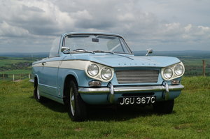 1965 Low Mileage Vitesse 6 Convertible For Sale