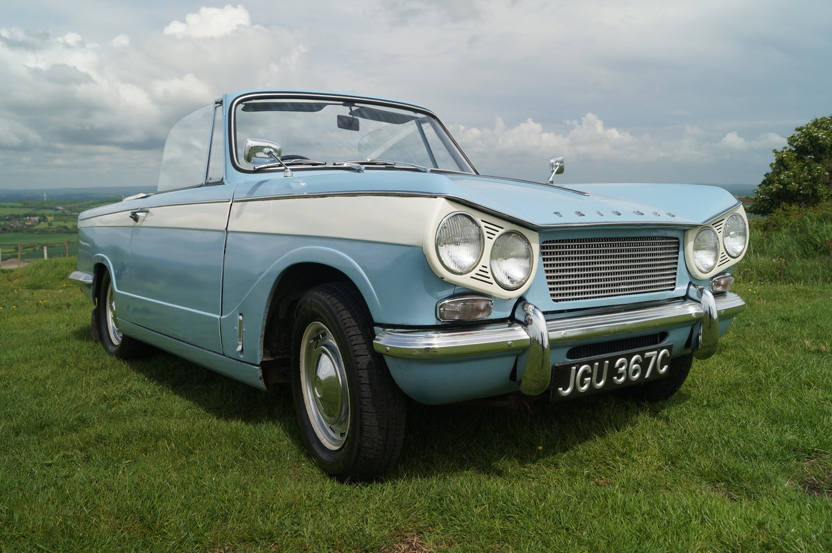 1965 Low Mileage Vitesse 6 Convertible SOLD (picture 6 of 6)