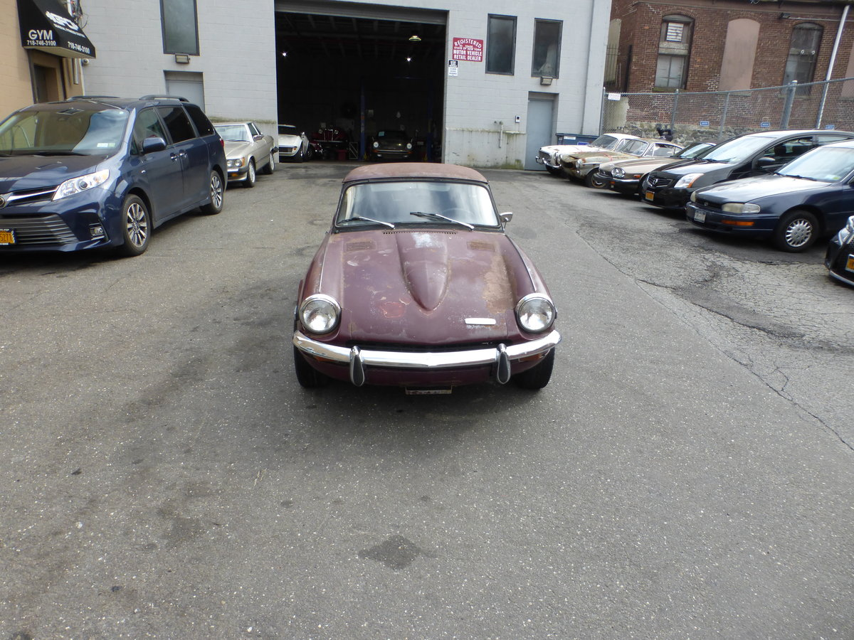 1970 Triumph GT6 MK-II Runs and Drives Needs Restortion For Sale (picture 2 of 6)
