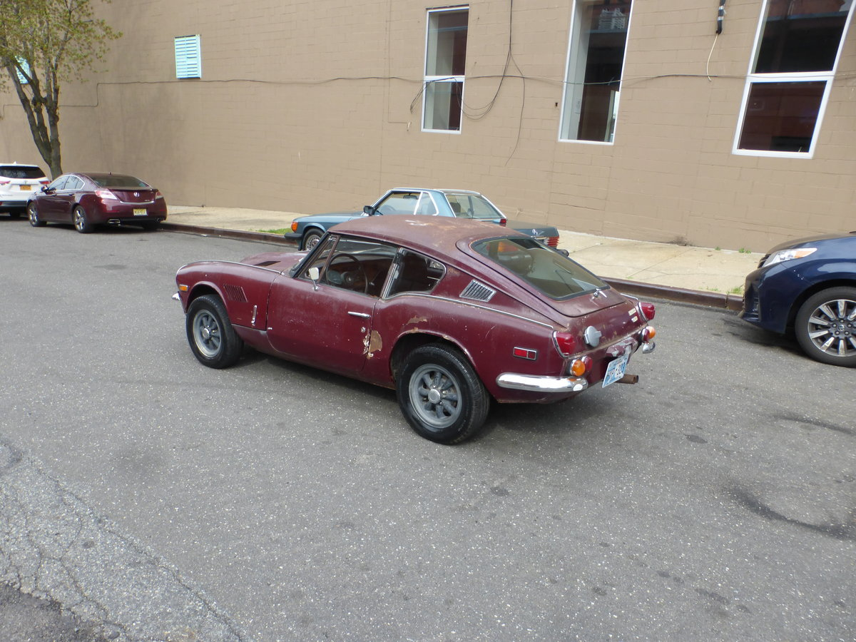 1970 Triumph GT6 MK-II Runs and Drives Needs Restortion For Sale (picture 4 of 6)
