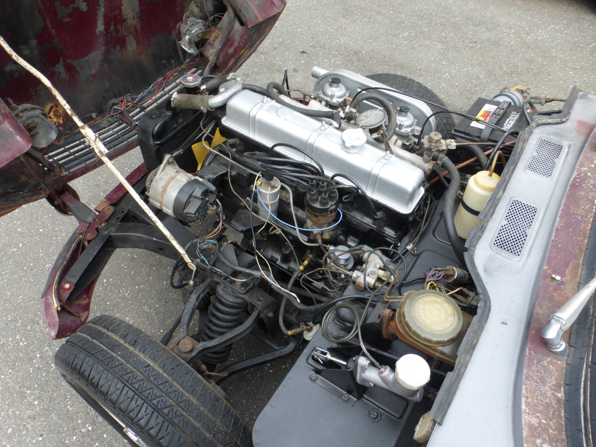 1970 Triumph GT6 MK-II Runs and Drives Needs Restortion For Sale (picture 6 of 6)