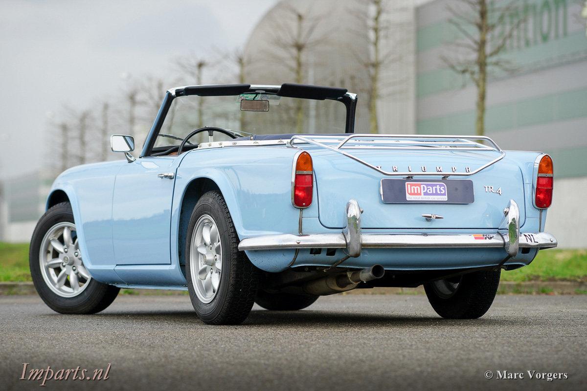 Excellent Triumph TR4 For Sale (picture 5 of 6)