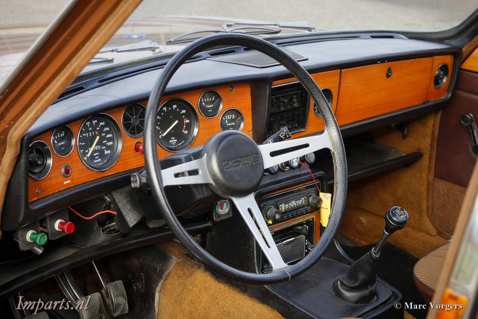 1977 Very nice Triumph 2500TC Overdrive For Sale (picture 3 of 6)