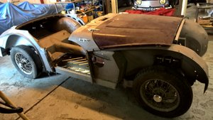 1958 Triumph TR3A *unfinished but great project* For Sale