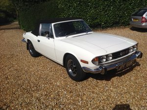 1972 TRIUMPH STAG Mk1, Manual with O'Drive For Sale
