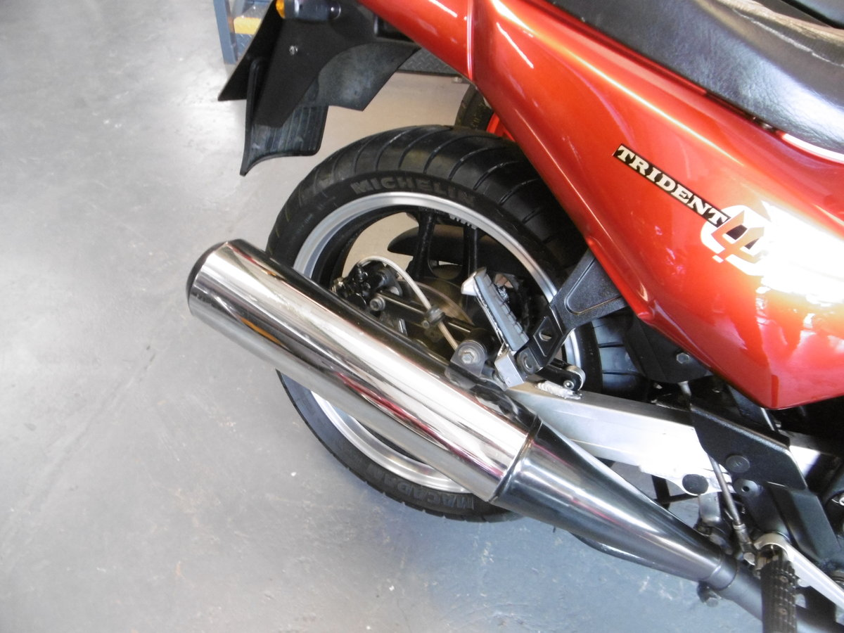 1993 Triumph Trident Just stunning rare find  SOLD (picture 5 of 6)