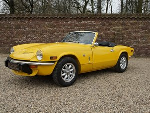 1976 Triumph Spitfire 1500 TC restored condition