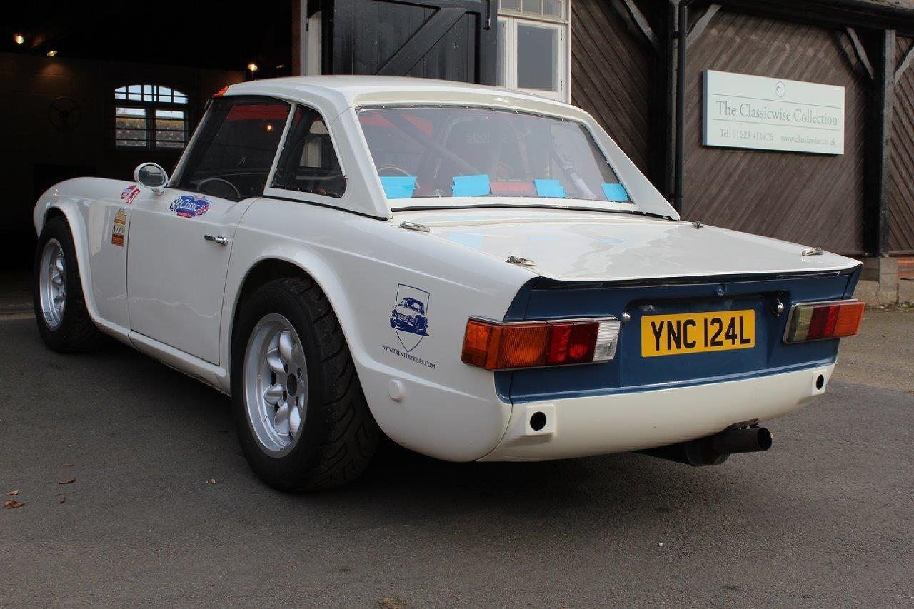 1972/L TRIUMPH TR6 RACE CAR  For Sale (picture 6 of 6)
