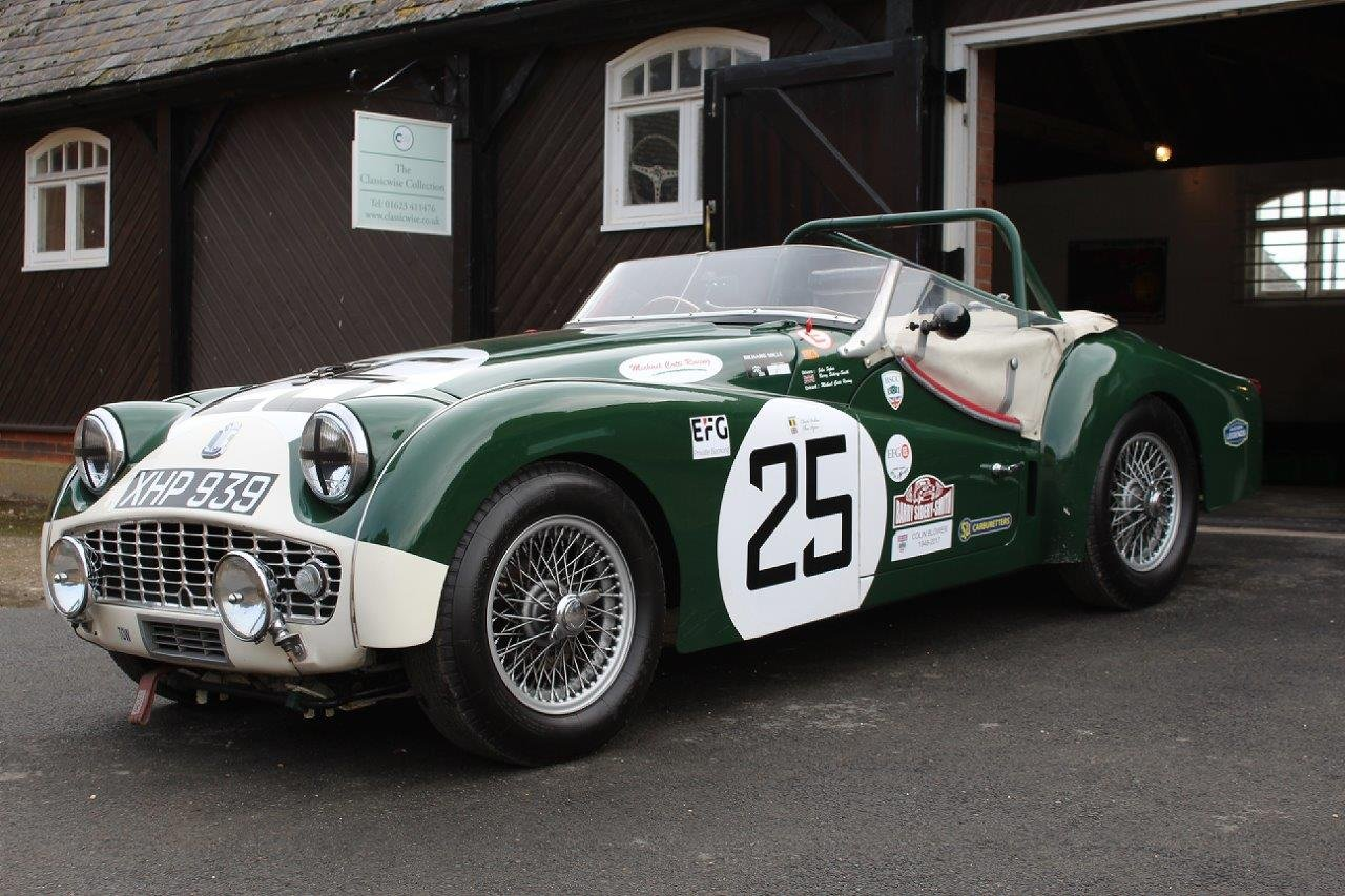 1959 TRIUMPH TR3S EVOCATION  For Sale (picture 1 of 6)