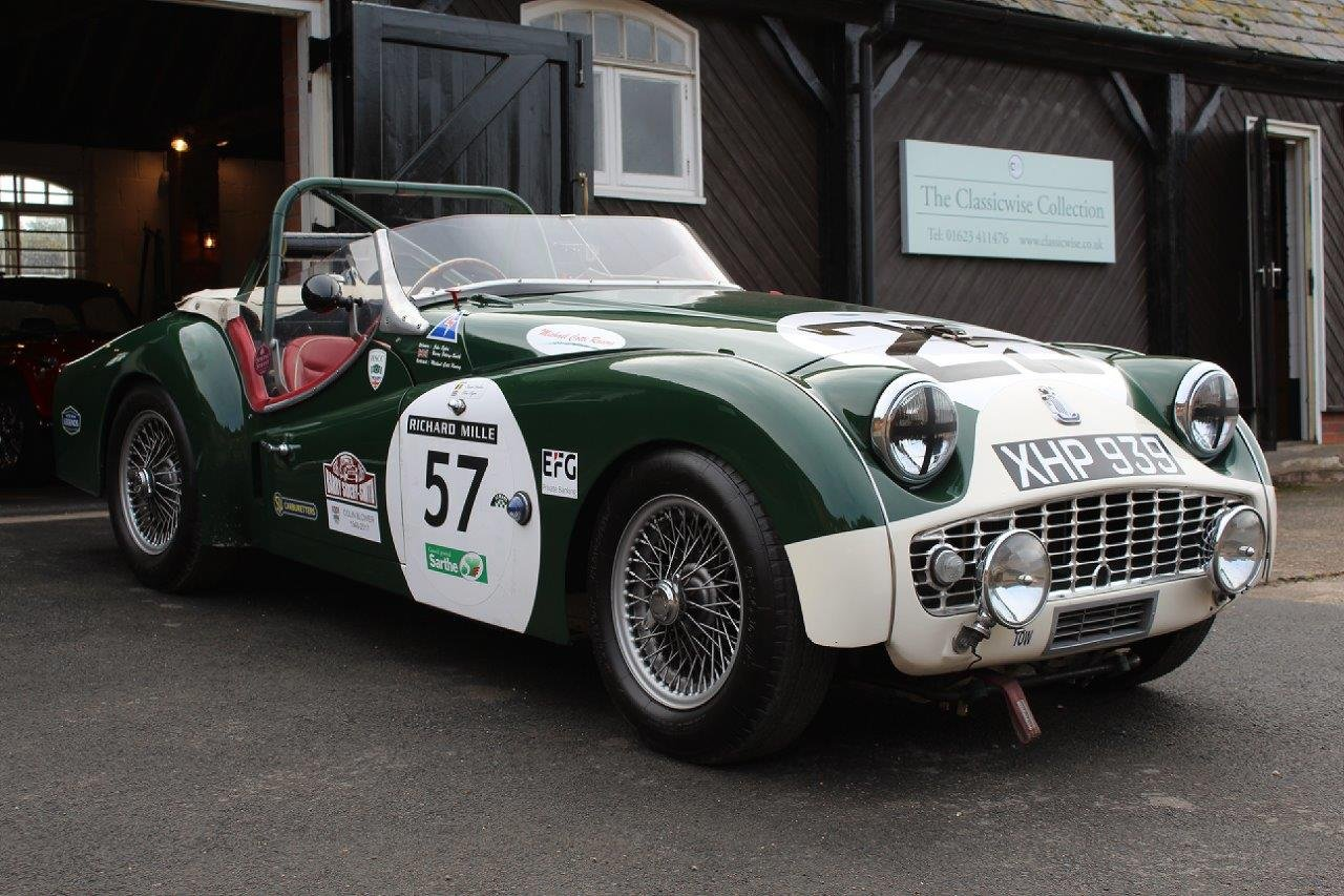 1959 TRIUMPH TR3S EVOCATION  For Sale (picture 3 of 6)