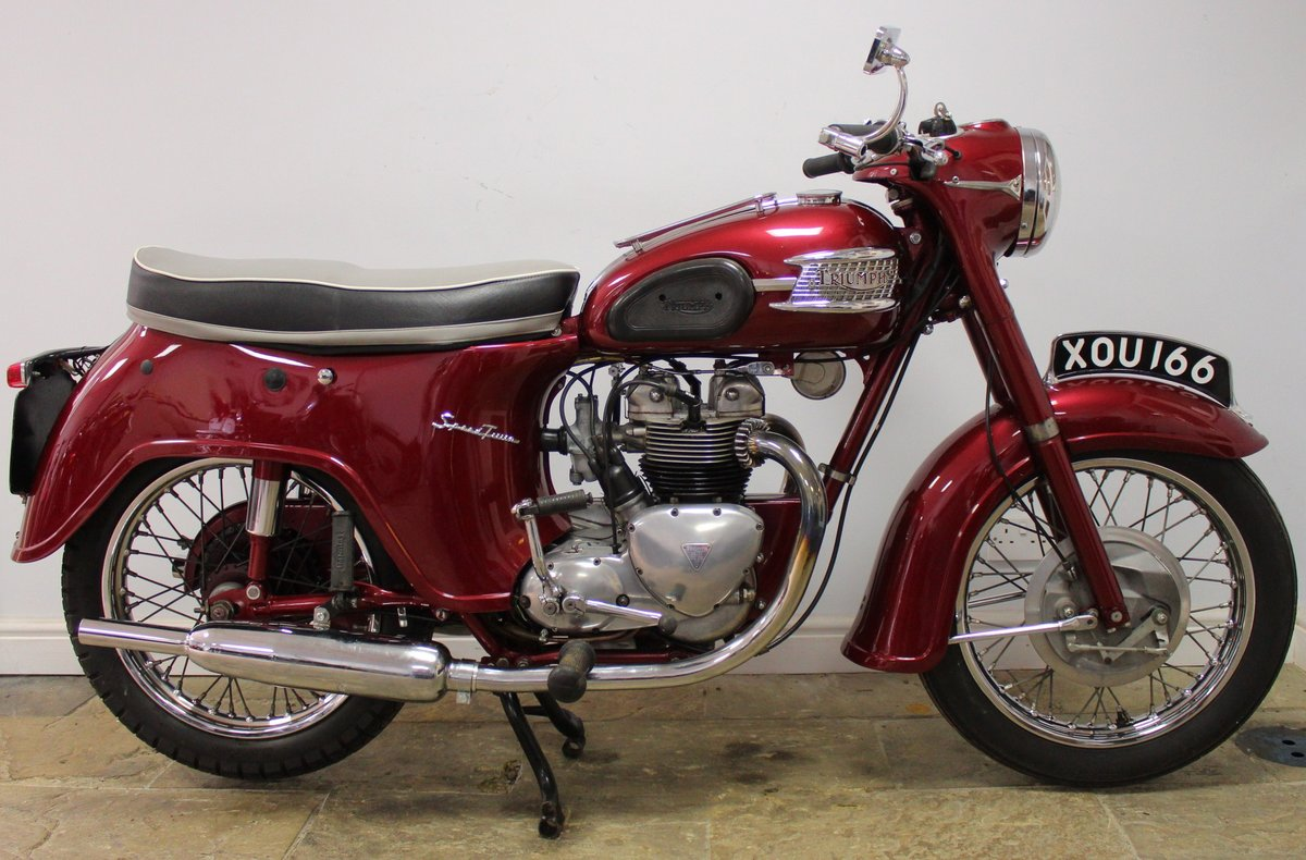 1960 960 Triumph 5TA Speed Twin 500 cc Matching Numbers  SOLD (picture 1 of 6)
