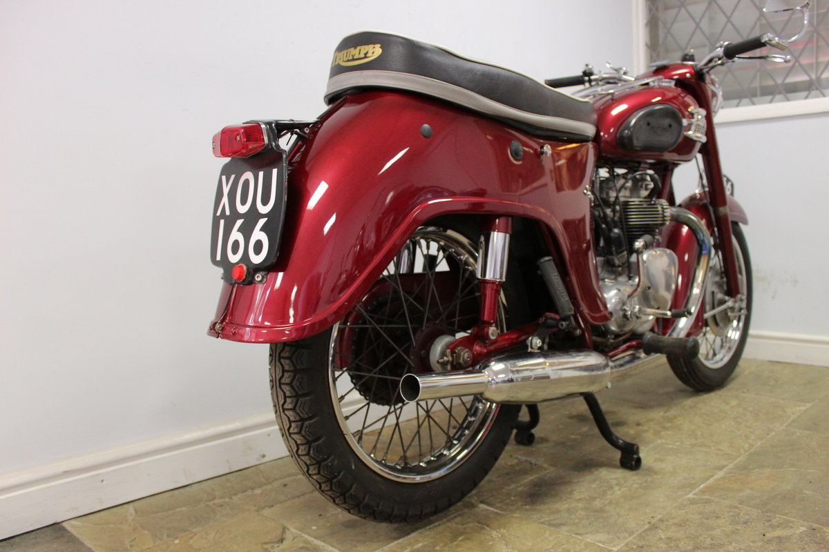 1960 960 Triumph 5TA Speed Twin 500 cc Matching Numbers  SOLD (picture 3 of 6)