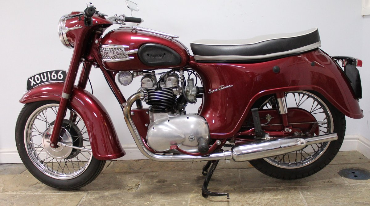 1960 960 Triumph 5TA Speed Twin 500 cc Matching Numbers  SOLD (picture 4 of 6)