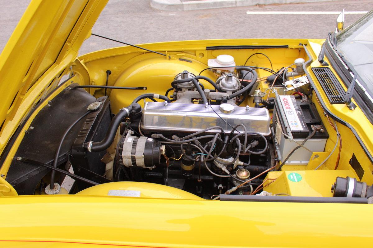1973 Triumph TR6 With Stromburg Carburetors  BEAUTIFUL SOLD (picture 3 of 6)