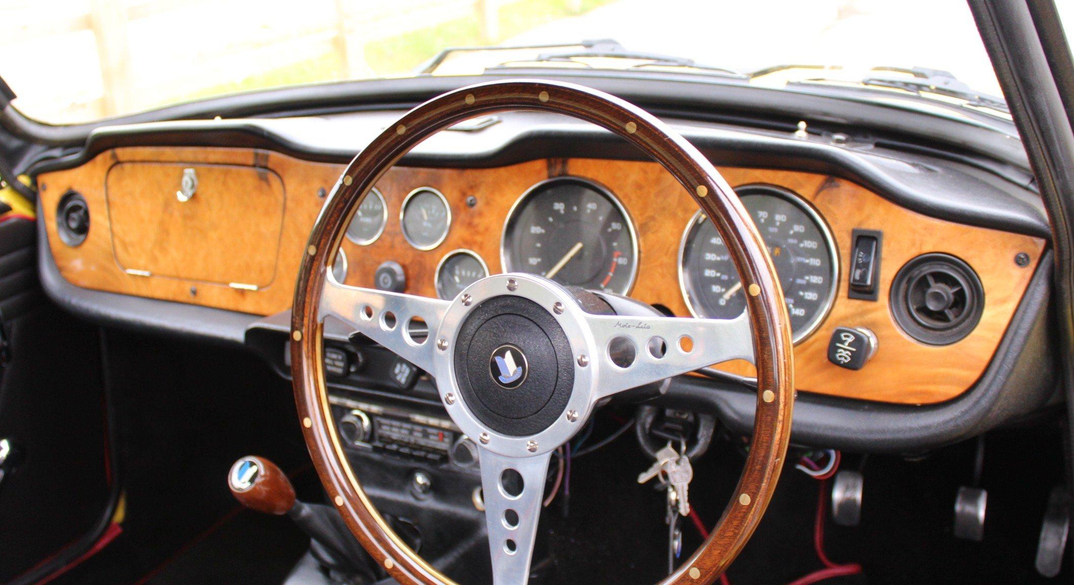 1973 Triumph TR6 With Stromburg Carburetors  BEAUTIFUL SOLD (picture 6 of 6)