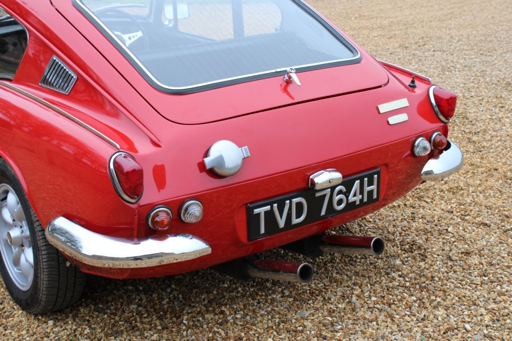 1969 TRIUMPH GT6 MK2 2.5L - SPECIAL CAR - £23,950 For Sale (picture 7 of 12)