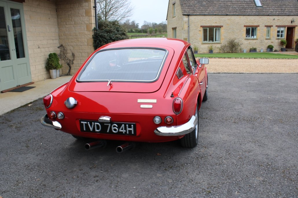 1969 TRIUMPH GT6 MK2 2.5L - SPECIAL CAR - £23,950 For Sale (picture 8 of 12)