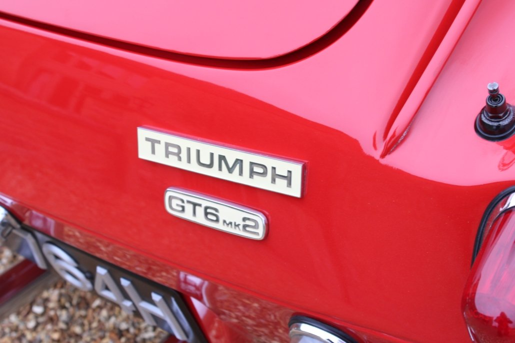 1969 TRIUMPH GT6 MK2 2.5L - SPECIAL CAR - £23,950 For Sale (picture 10 of 12)