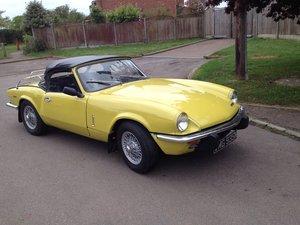 Triumph spitfire mk4 1300 1974 For Sale