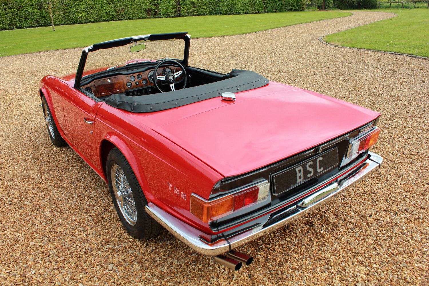 1971 TRIUMPH TR6 - BEST AVAILABLE For Sale (picture 8 of 12)