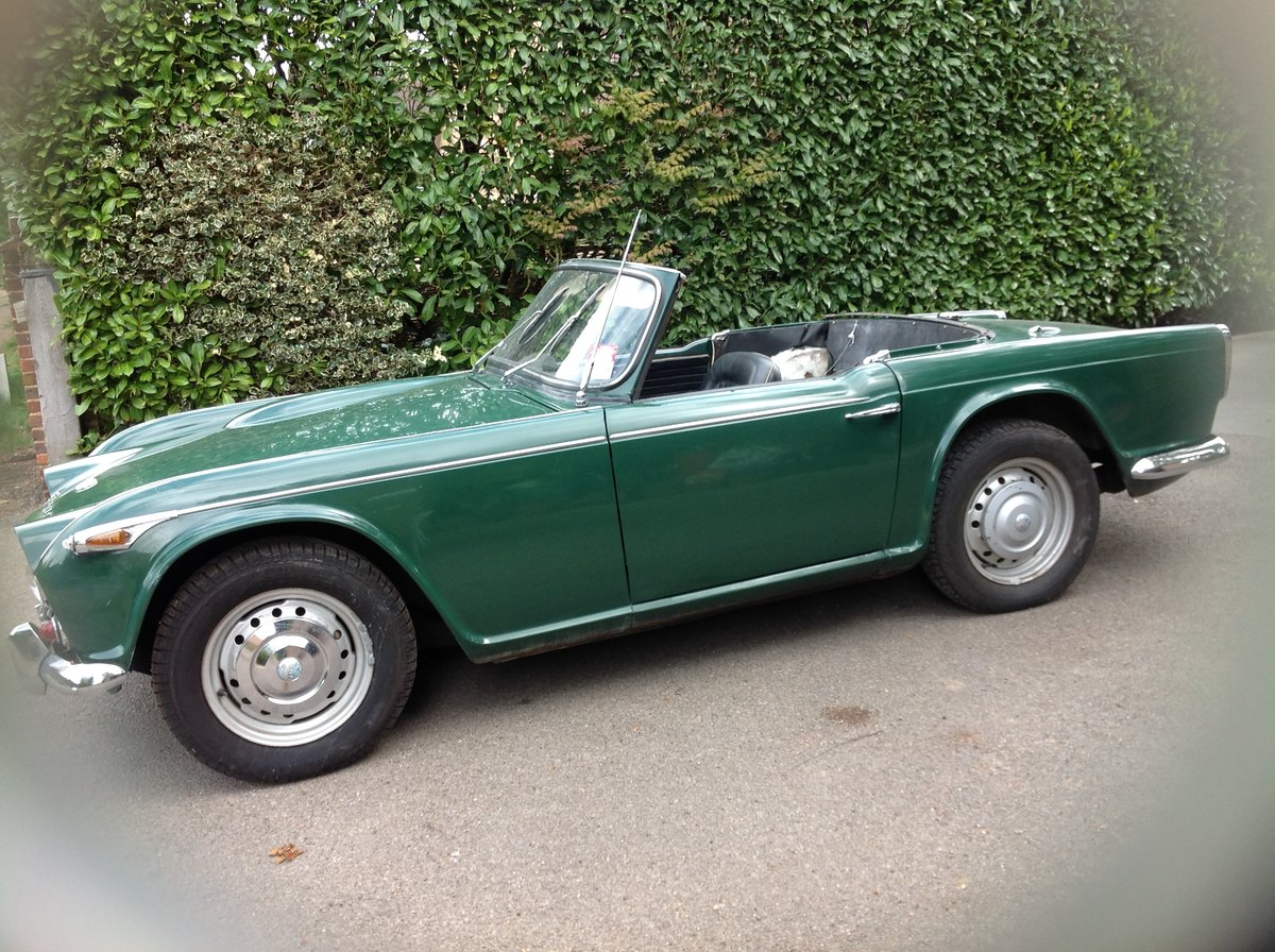 1966 Triumph Tr4a. Uk right hand drive For Sale (picture 2 of 6)