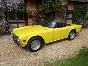 1973 Very original Triumph tr6 2 owner car For Sale
