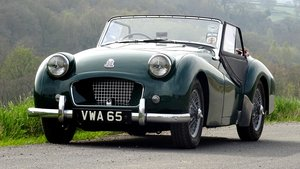 1955 Triumph TR2 British Racing Green Beautiful Classic Car For Sale