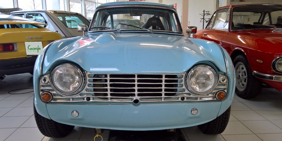 1962 Triumph Tr4 Lhd Racerallyroad Car For Sale Car And Classic
