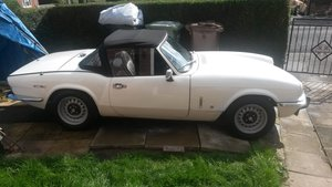 1972 Triumph Spitfire mark IV (4) For Sale